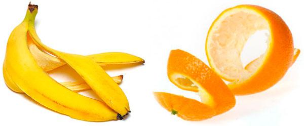 cascara de platano y naranja para blanquear los dientes